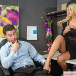 Slim sexy Afro American office babe HD xXx