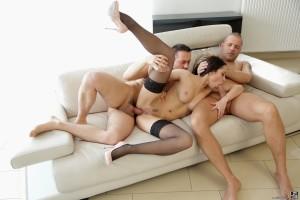 Sexy milf sucks and anal fucks