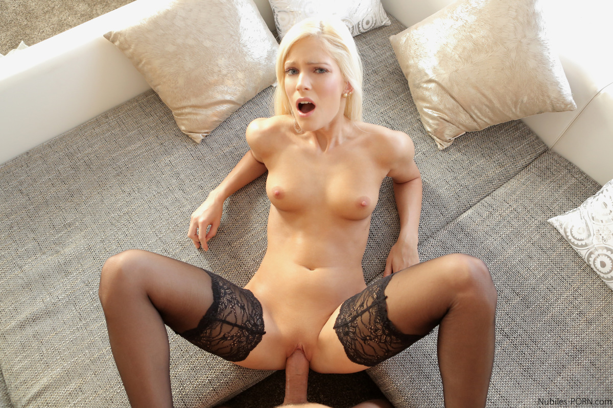 hot blonde fucks