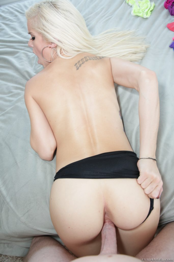 Sexy skinny girl fucked from behind