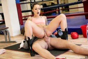 Anal fucking in the gym hd porn