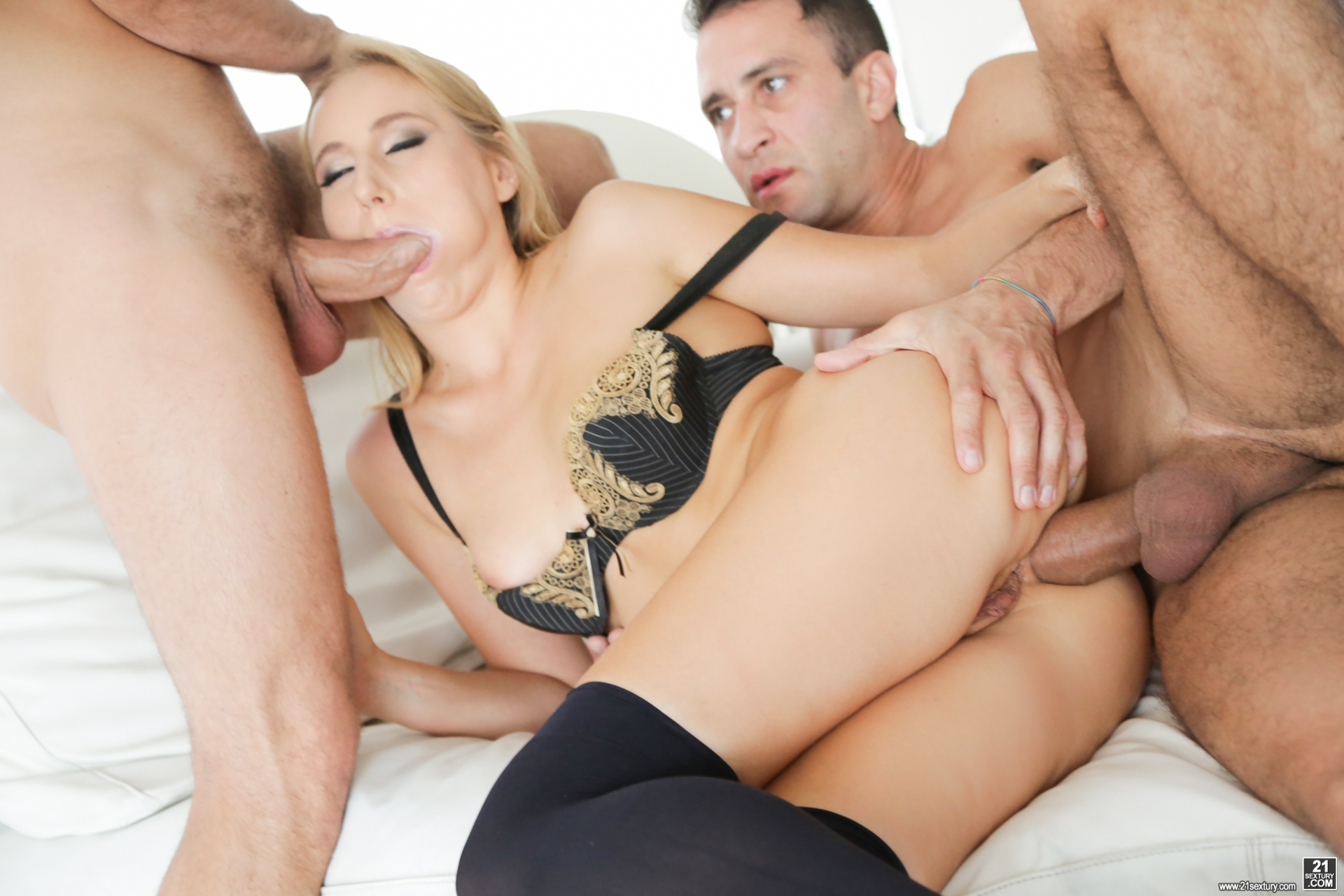 Important Threesome with two females porn quite good